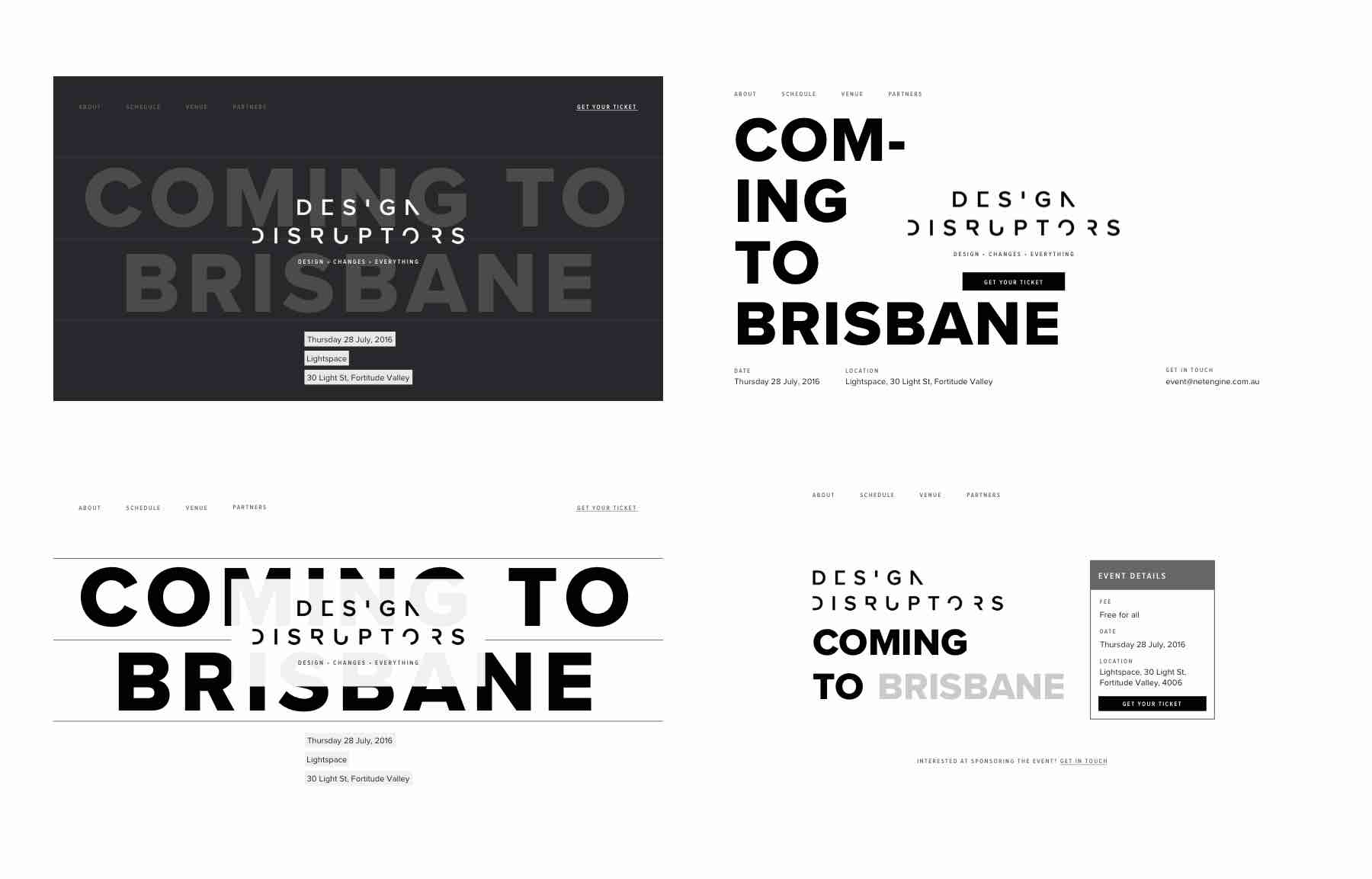 designdisruptors.com.au Website Draft